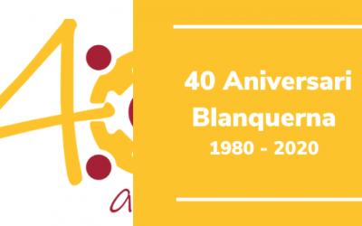 40 aniversari Blanquerna